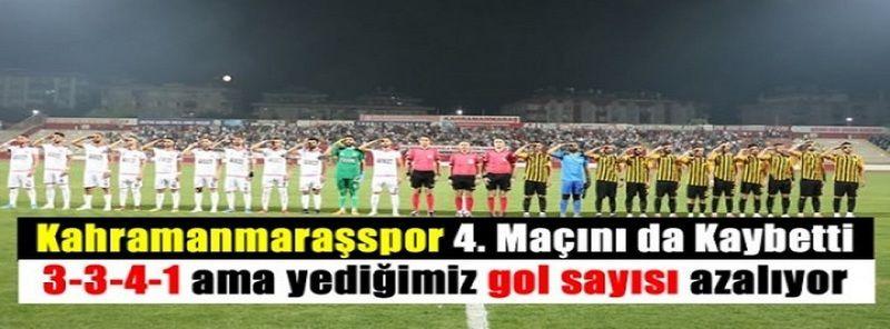 Maraşspor Rekora Koşuyor! Kahramanmaraşspor'un Gol Yeme Sayısı Azalıyor! Bayburt Özel İdare Spor maç sonucu 0-1