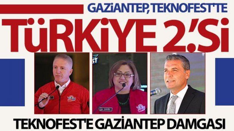 Gaziantep, Teknofest'te Türkiye 2'cisi