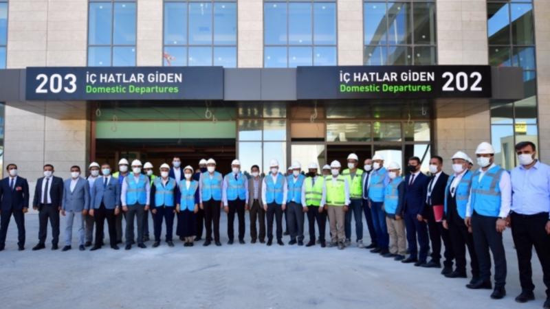 Gaziantep Havalimanın kapasitesi 5 katına çıkacak