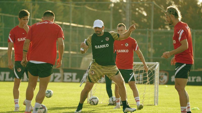 Gaziantep, Altay maçı hazırlıklarına başladı