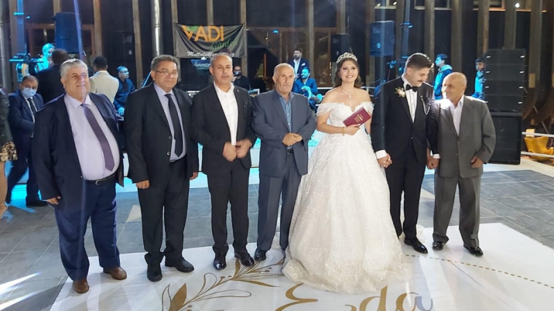 Karacan' ailesinin mutlu günü