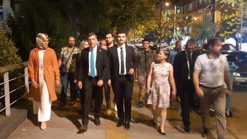 Yenilik Partisi Genel Başkanı Öztürk Yılmaz Gaziantep'e geldi