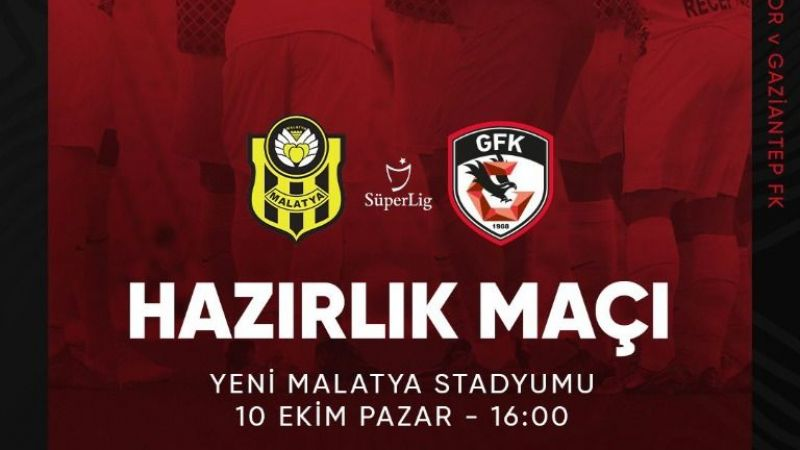 Gaziantep FK haftayı boş geçmeyecek