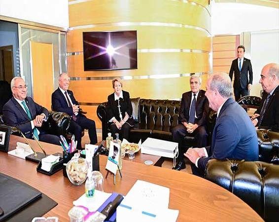 Muharrem İnce DSP Genel Başkanı Aksakal ile Görüştü
