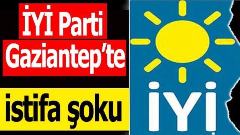 İyi Parti Gaziantep'te Şok İstifa! İl Başkanı Hocaoğlu'nun Şok İstifası!