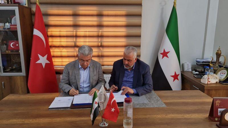 NTO ile Çobanbey Sanayi Odası arasında protokol imzalandı