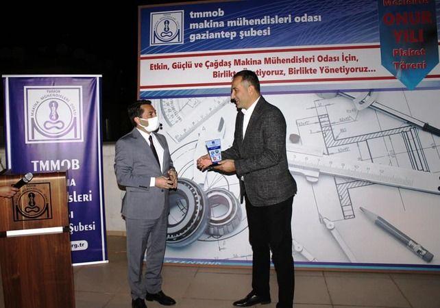 MMO'da onur yılı plaket töreni düzenlendi