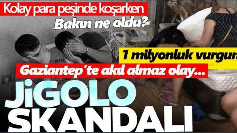 Gaziantep'te Jigolo skandalı