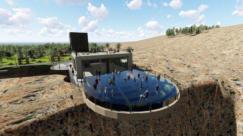 Dünya harikası Rumkale cam terasta yürümek yürek istiyor