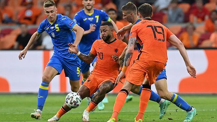EURO 2020 Hollanda 3 - 2 Ukrayna maç sonucu