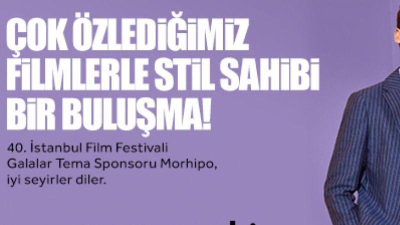 """40. İstanbul Film Festivali'nde """"Galalar"""" heyecanı başlıyor"""