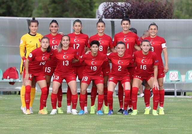 A Milli Kadın Futbol Takımı'nın hazırlık kampı kadrosu açıklandı