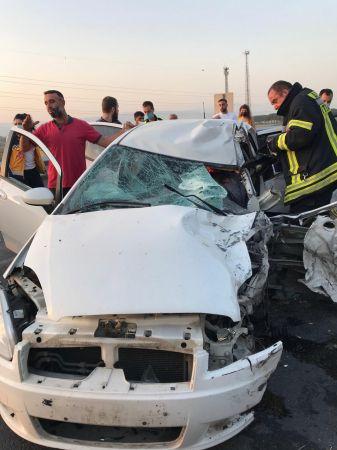 Aydın'da Ukraynalı turistlerin minibüsü kaza yaptı: 9 yaralı