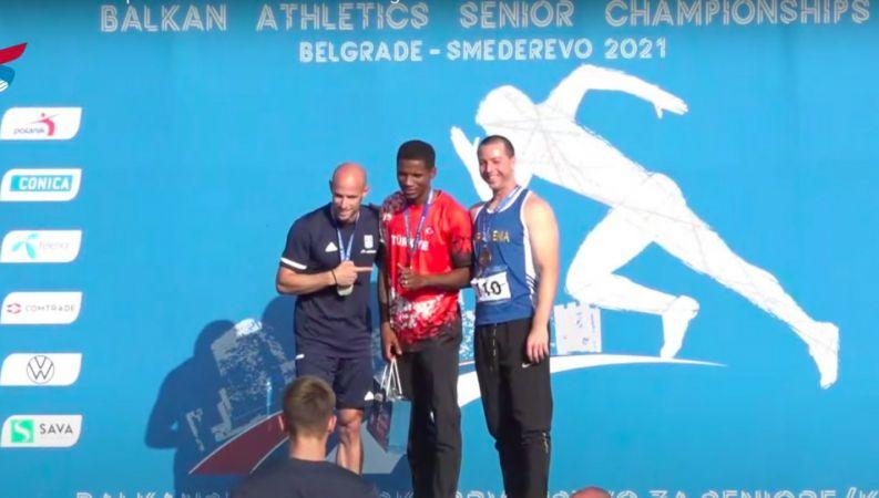 Balkan Atletizm Şampiyonası'nın ilk gününde 9 madalya