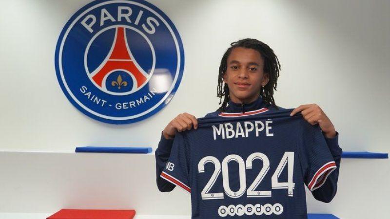 Ethan Mbappe 15 yaşında PSG'ye transfer oldu!