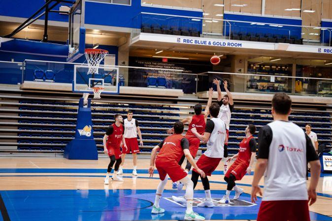 A Erkek Milli Basketbol Takımı'nın FIBA Erkekler Olimpiyat Elemeleri kadrosu açıklandı
