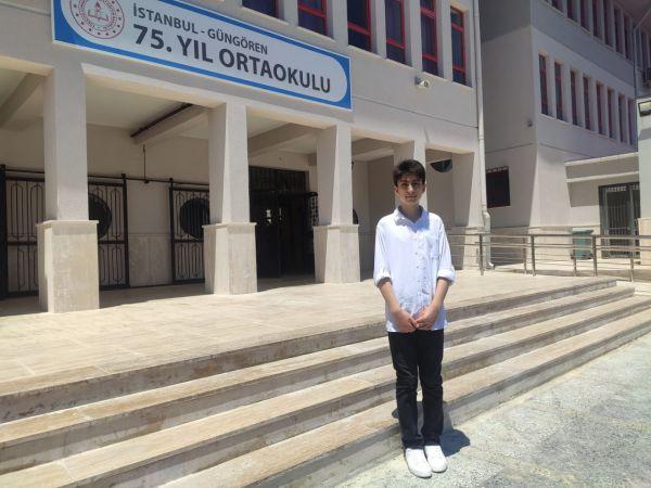 LGS birincisi Necip'in başarı sırrı; her zaman mutlu olmak