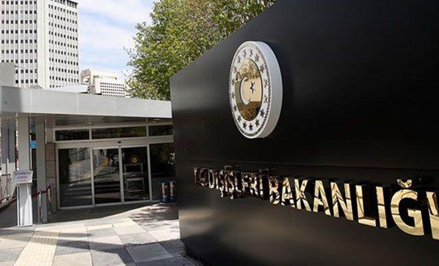 Dışişleri Bakanlığı'ndan, AP'nin Türkiye kararına tepki