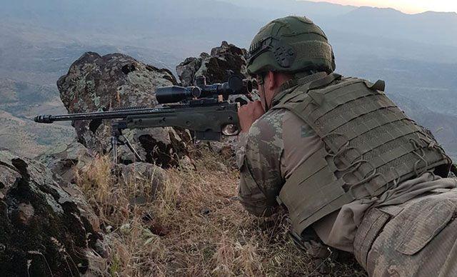 MSB: PKK/YPG'li 5 terörist etkisiz hale getirildi