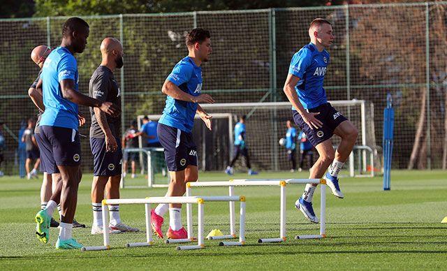 Enner Valencia takımla birlikte çalışmaya başladı