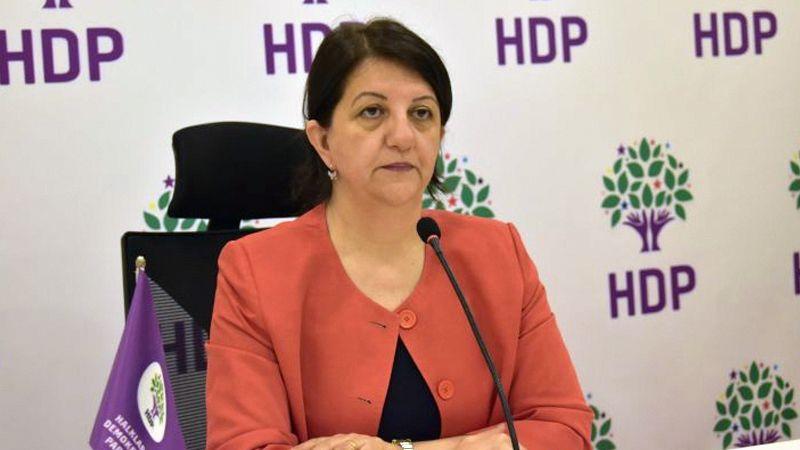 HDP Eş Genel Başkanı Pervin Buldan'dan yangın açıklaması geldi