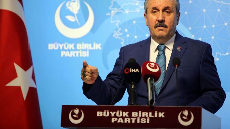 """Mustafa Destici: """"Yangınların çıkışı sabotajı işaret ediyor"""" dedi"""