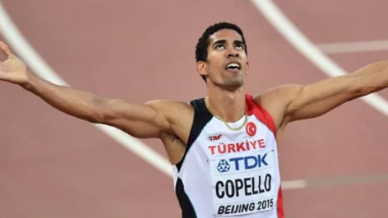 Milli atlet Yasmani Copello finalde