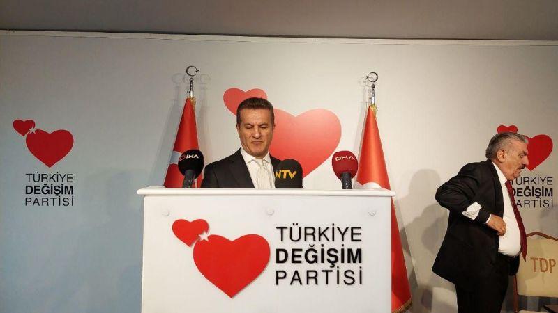 """TDP Genel Başkanı Mustafa Sarıgül """"İktidara geldiğimizde deprem ve afet bakanlığını kuracağız"""" dedi"""