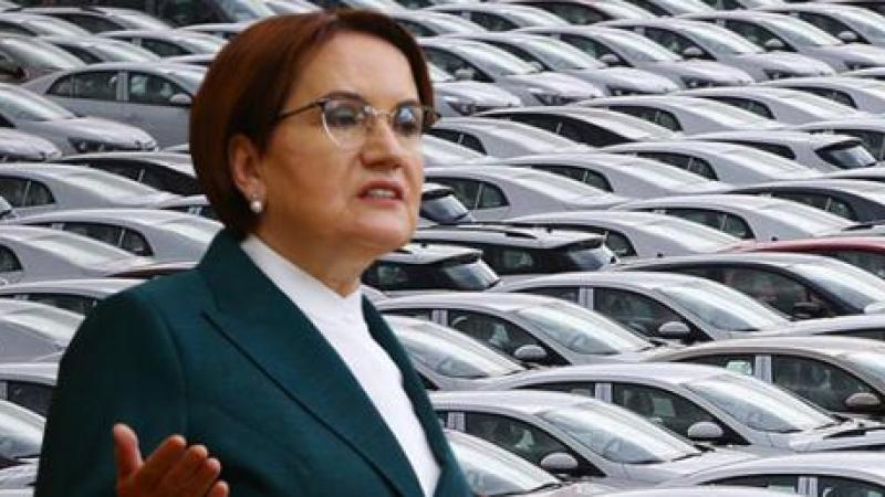 Meral Akşener'den bomba ÖTV vaadi: Otomobillerden ÖTV'yi kaldıracağız
