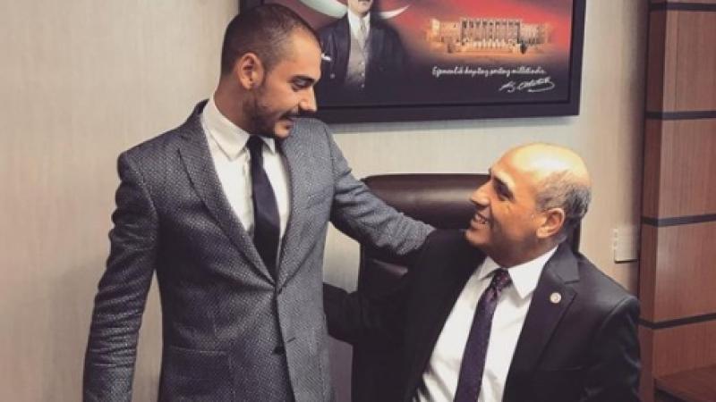CHP'li Fikret Şahin ve oğlundan polise hakaret!