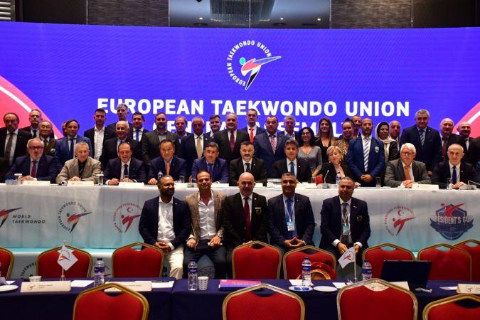 Avrupa Tekvando Birliği'nde yönetim güven tazeledi