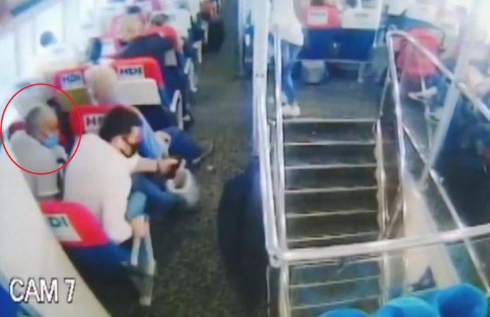 İstanbul'da deniz otobüsünde uyuyan kadını taciz eden şahıs tutuklandı!