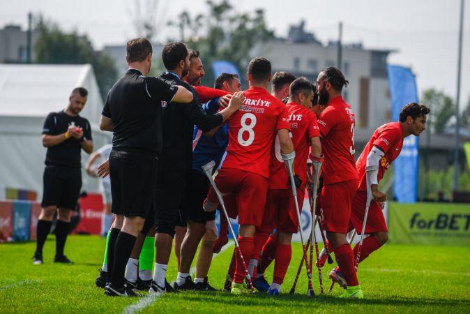 Ampute Futbol Milli Takımı, Avrupa Şampiyonası'nda yarı finalde
