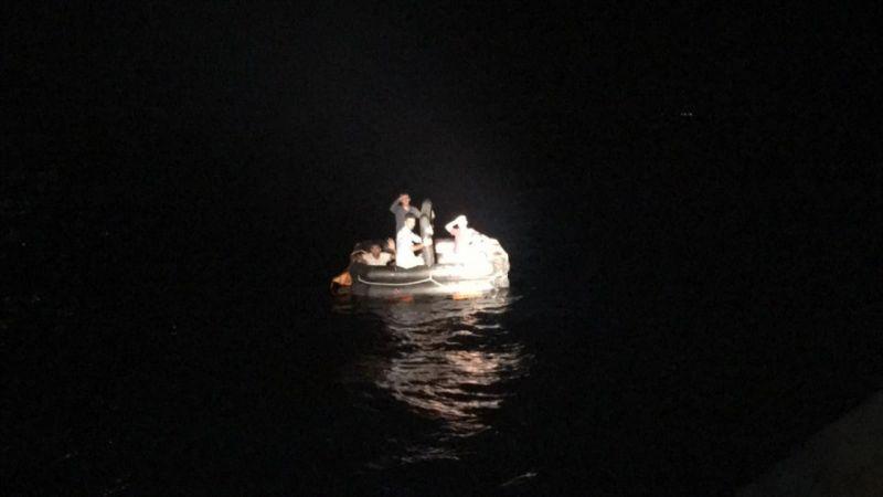 Muğla'da 6 düzensiz göçmen kurtarıldı