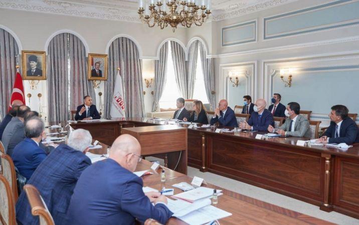 İstanbul Valisi Yerlikaya, devlet üniversitesi rektörleri ile bir araya geldi