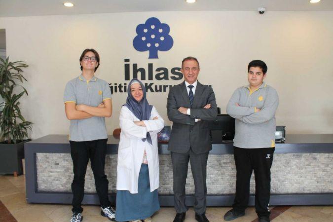 İhlas Koleji öğrencileri EYP'de Türkiye'yi temsil edecek