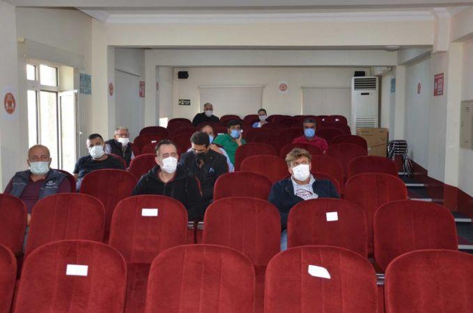 Hayvan ve hayvansal ürün nakilleriyle ilgili eğitim toplantısı düzenlendi