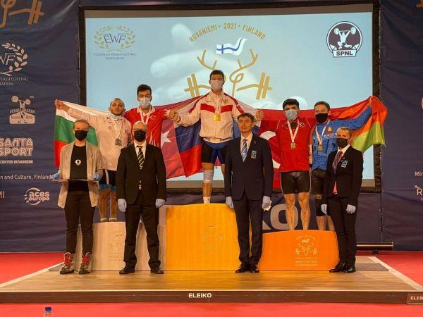 Bartın Üniversitesi öğrencisi Batuhan Sancak Avrupa üçüncüsü oldu