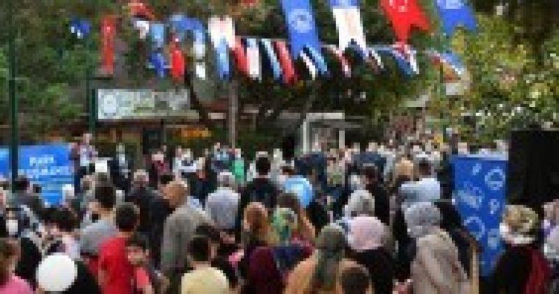 ÜSKÜDAR BELEDİYESİ DOSTLUK PARKI'NDA 5 ÇAYI BULUŞMASI