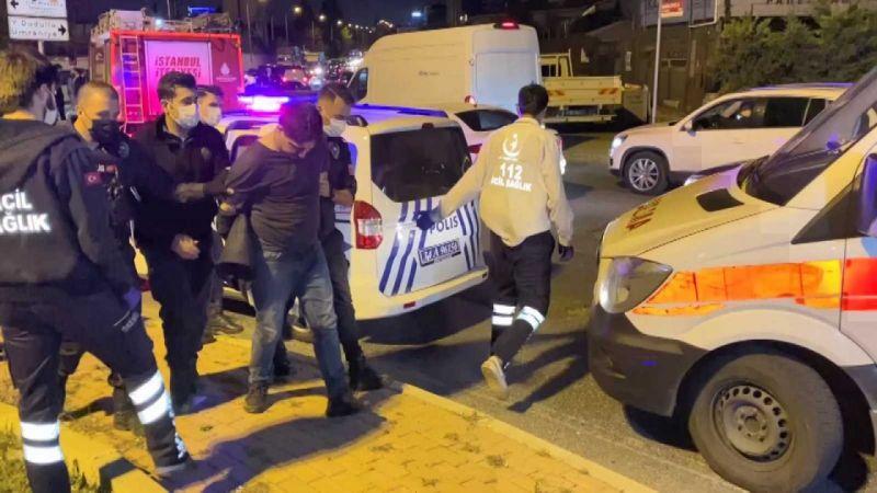 Alkollü sürücü zincirleme kazaya sebebiyet verdi!