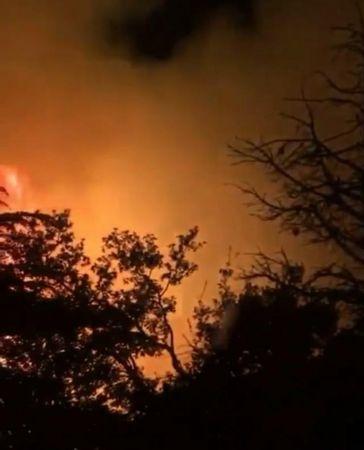 Kemer'de orman yangını çıktı, ekiplerin müdahalesi devam ediyor