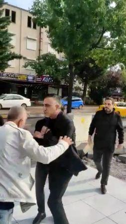İzmit'te kuaför işleten ortaklar tekme tokat kavga etti