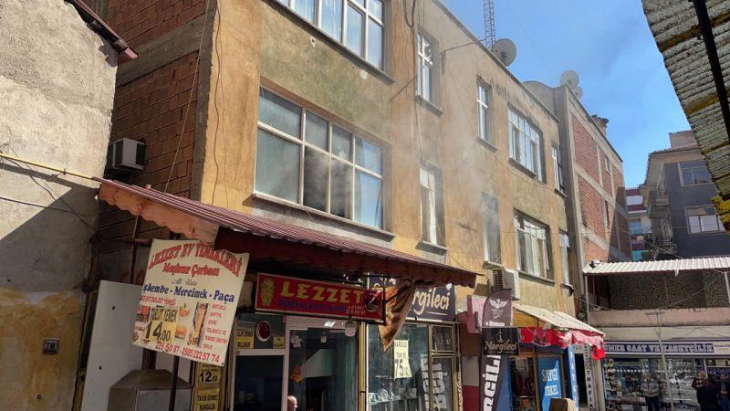 Kırıkkale'de kıraathane kundaklama iddiası: 3 gözaltı