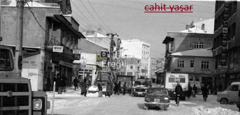 Şimdi, Ereğli'nin en işlek caddesi