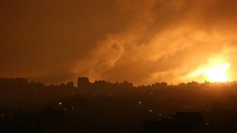 Siyonist İsrail'in Gazze Şeridi'ne düzenlediği saldırılarda şehit sayısı yükseliyor