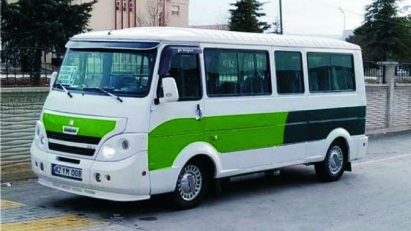 Ereğli'de şehir içi minibüs seferleri başlıyor