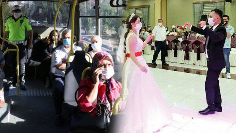 Son dakika! Bakanlık Açıkladı: Toplu ulaşım, düğün ve nişan kararları
