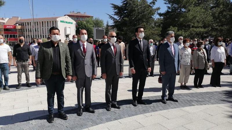 Ereğli'de 19 Mayıs Çelengi