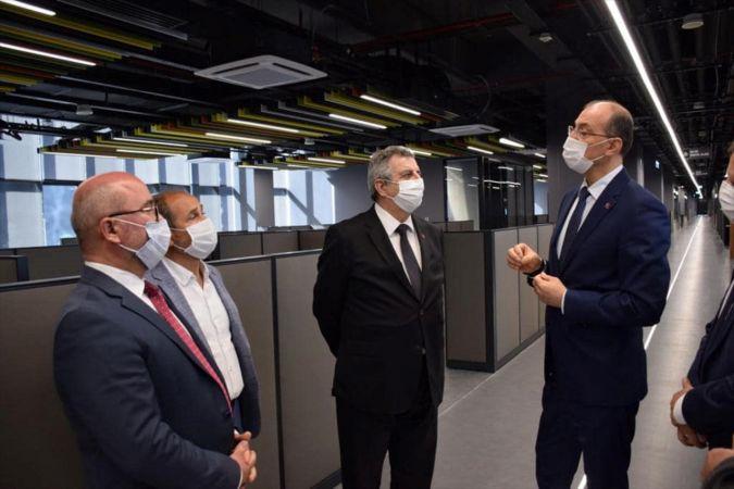 Sanayi ve Teknoloji Bakan Yardımcısı Hasan Büyükdede ASELSAN Konya'yı ziyaret etti