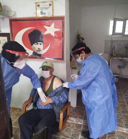 Seydişehir'de aşılama çalışmaları sürüyor